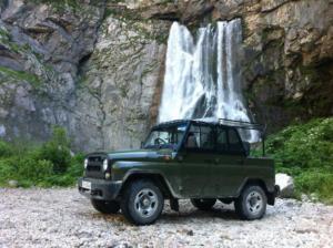 Джипинг в Абхазию, экскурсия в Абхазию на джипах фото
